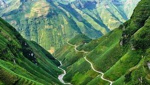 Ma Pi Leng Pass, Ha Giang Province, Vietnam