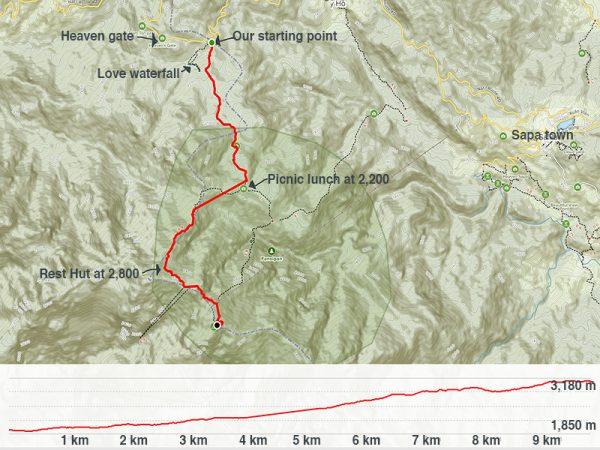 Fansipan Mountain Trek Tram Ton Trail