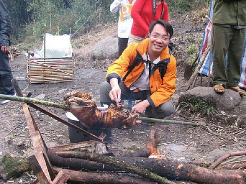 Cooking in Fansipan