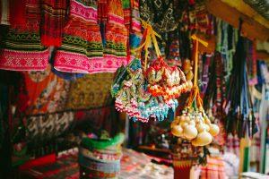 Ethnic traditional costum in Ta Van village - Sapa