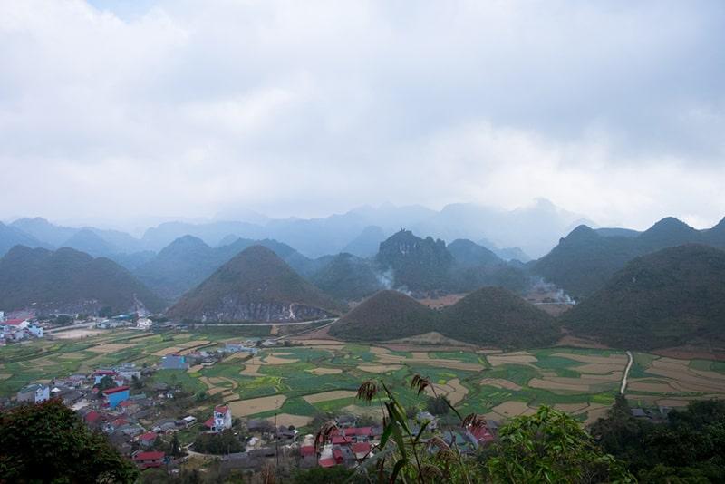 Fanciful beauty of Quan Ba Ha Giang Twin Mountain