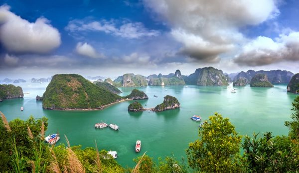 Halong Bay - View from Titop Island