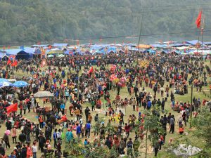Long Tong Festival in Ba Be National Park