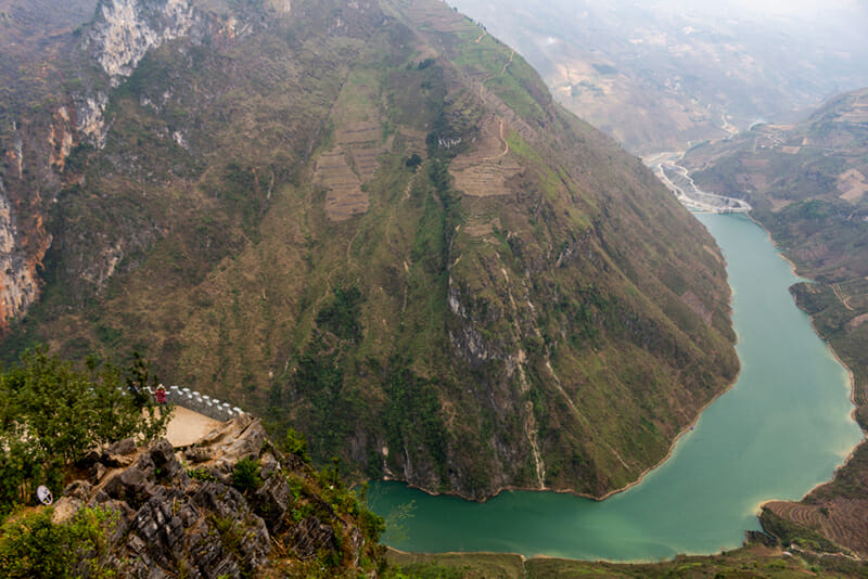 Ma Pi Leng Pass - Chasm of Nho Que River are the most majestic landscapes in Ha Giang