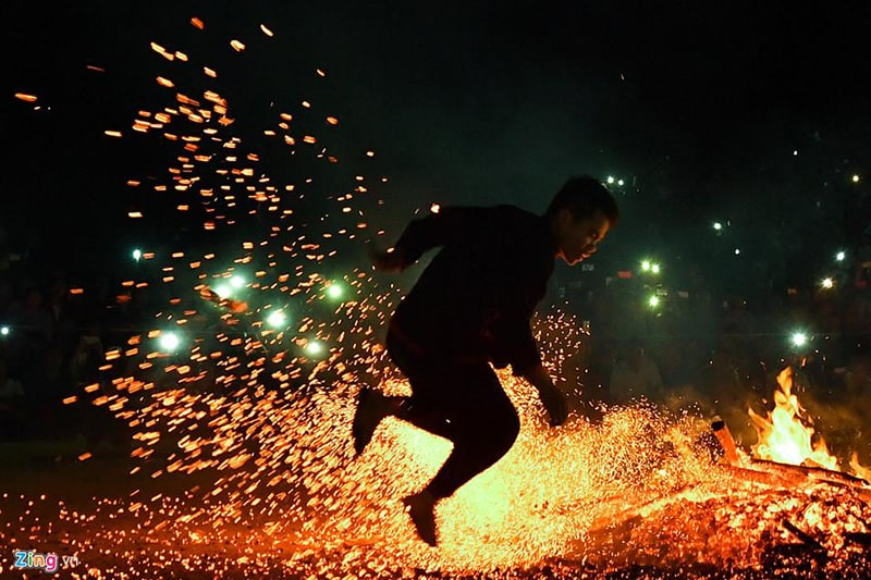 Pa Then Fire Dance Festival is a unique, wild and mysterious cultural activity
