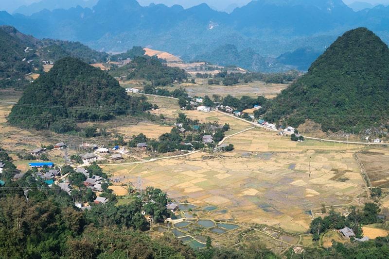 Quan Ba - a pair of beautiful mountains