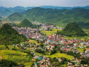 The plump beauty of Quan Ba Ha Giang Twin Mountain