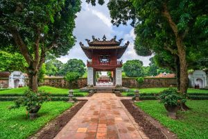 The temple of literature - Hanoi