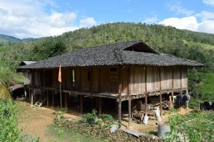 Traditional house of Giay Ethnic People