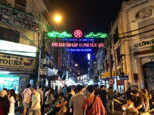 The Hanoi Old Quarter