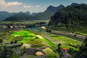 Beautiful Riverside in Phong Nha - Ke Bang National Park