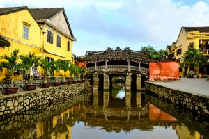 Japanese bridge - Hoi An Vietnam