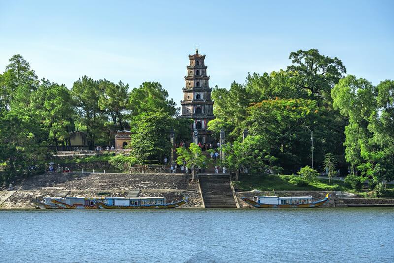 Thien Mu Pagoda - Hue Vietnam