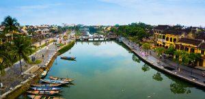 Thu Bon River - Hoi An Vietnam