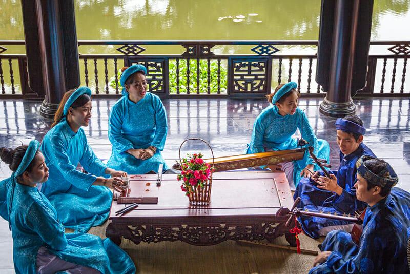 Traditional Nha Nhac Hue Vietnam