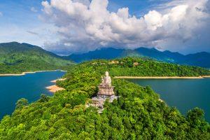 Truc Lam Bach Ma monastery in Bach Ma mountain - Hue Vietnam