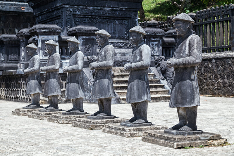 Tu Duc Tomb - Hue Vietnam