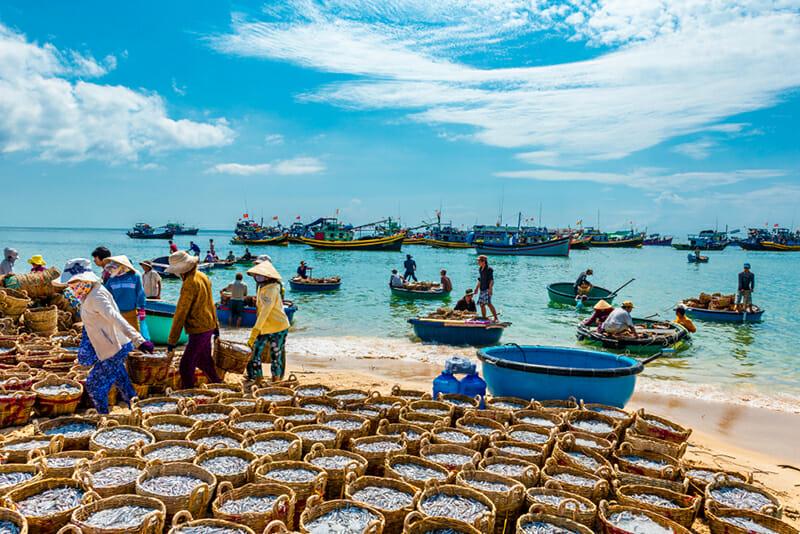 Fishing village - Mui Ne