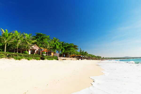 Mui Ne White Sandy Beach