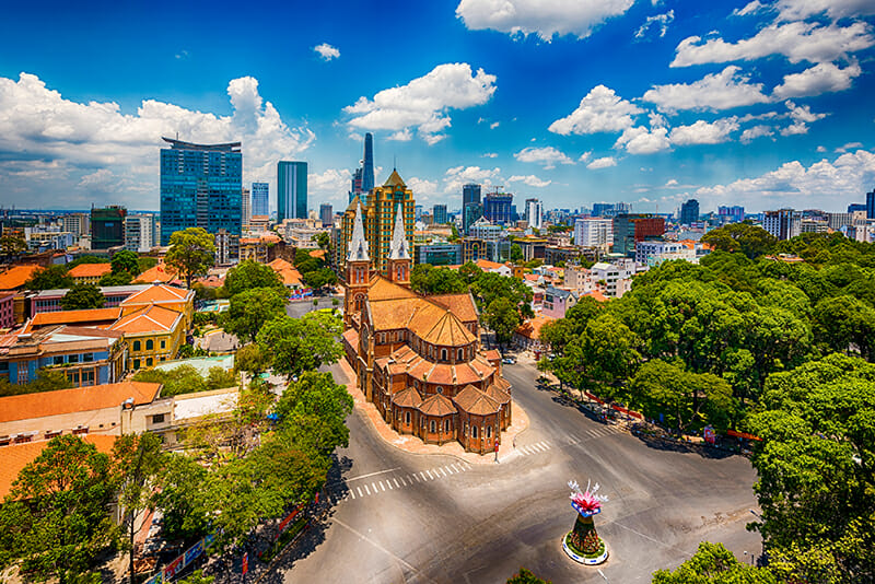 Notre Dame Catheral Ho Chi Minh City