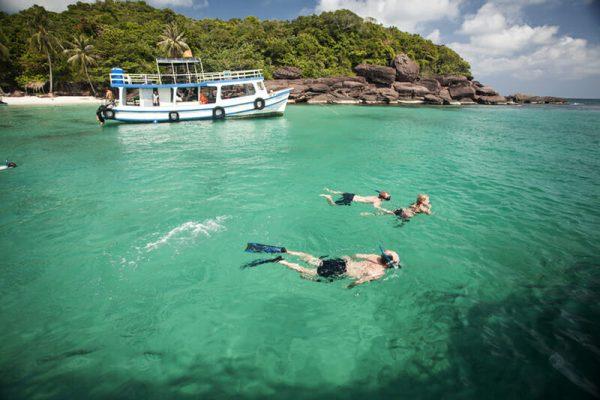 Snorkeling in Phu Quoc island