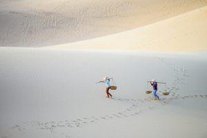 White Sand Dune - Mui Ne